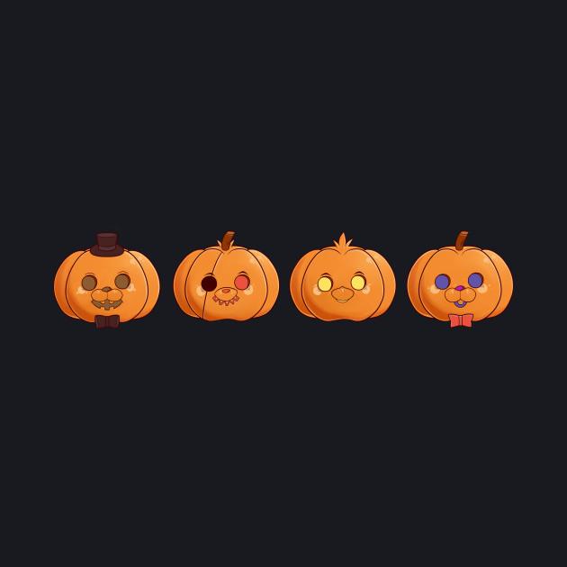 Five Nights at Freddy's Pumpkins