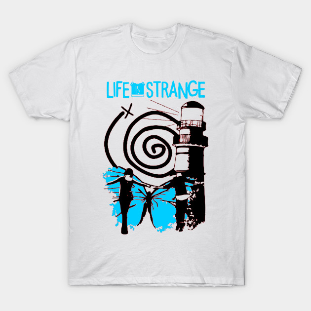 870d01b92a Life is Strange Chloe and Max - Life Is Strange - T-Shirt
