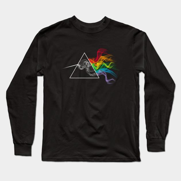 ba6f2148 Smoking Dark Side of the Moon - Pink Floyd - Long Sleeve T-Shirt ...