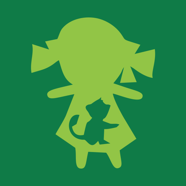 Monkey Girl - Green