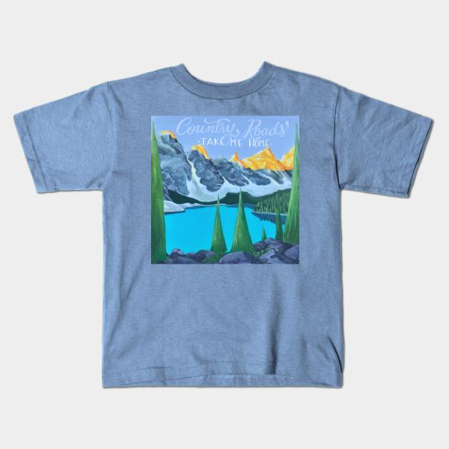 a73059b9 Mountain Mama - Mountain - Kids T-Shirt | TeePublic