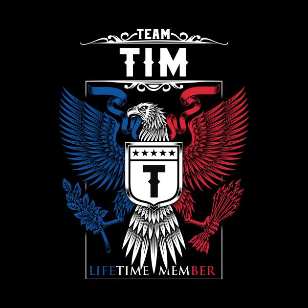 Team Tim Lifetime Member | Tim Surname