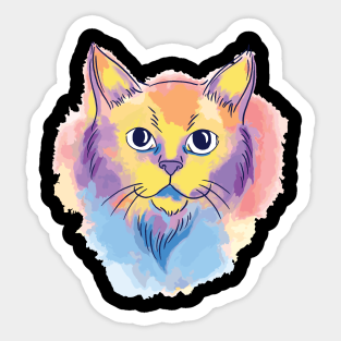 Cat Themed Gifts Stickers Teepublic
