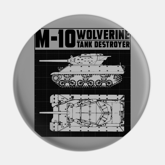 M-10 TANK DESTROYER (WOLVERINE)