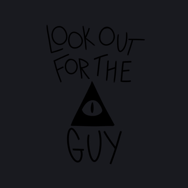 LOOK OUT- Black