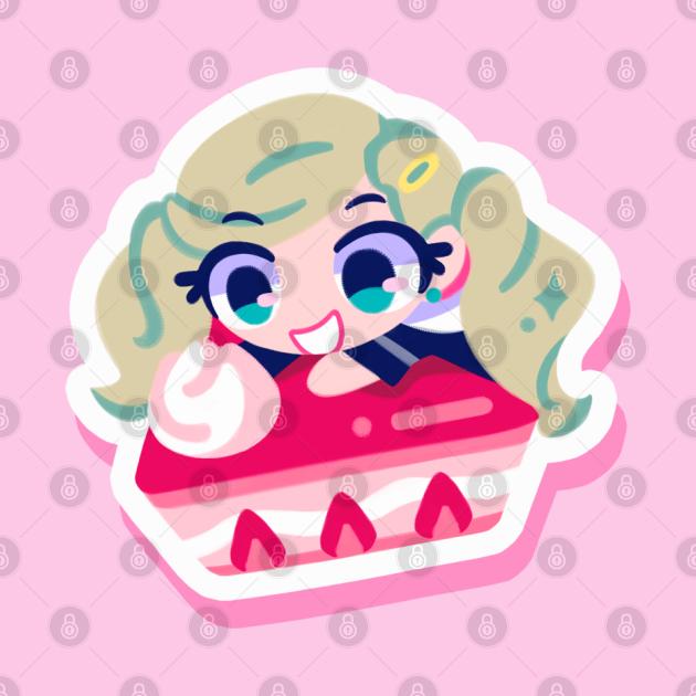 Ann Takamaki cake