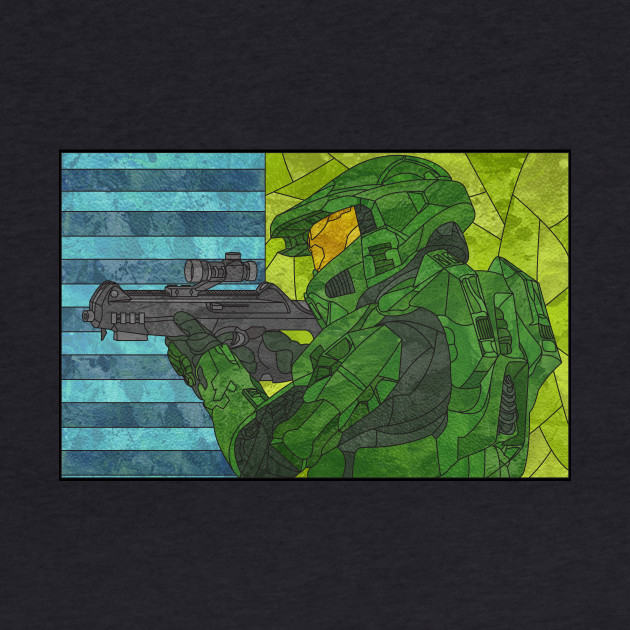 Master Chief in Glass