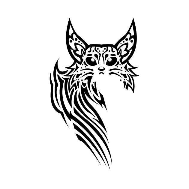 Lynx tattoo style