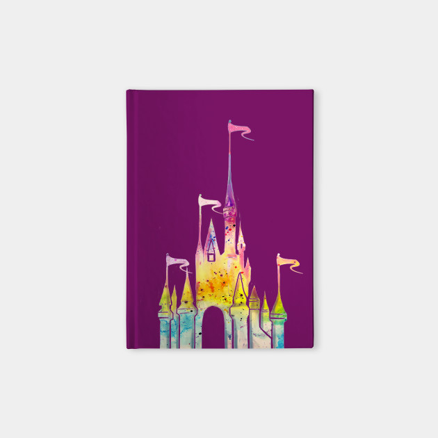 Watercolor Castle