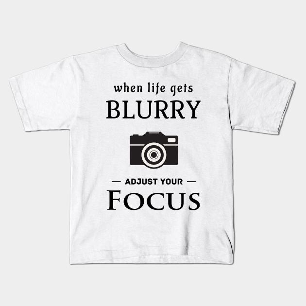 Kids Future Photographer T-shirt Funny Photography Camera Birthday Gift Top
