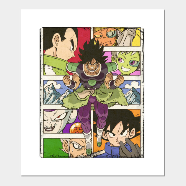 Dragon Ball Super Broly Manga Vintage