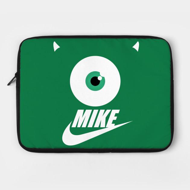 mike wazowski monsters university laptop case teepublic