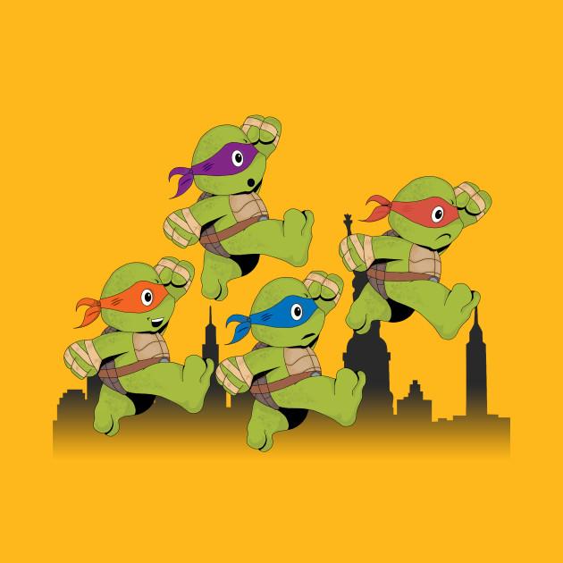Turtles Bros on patrol