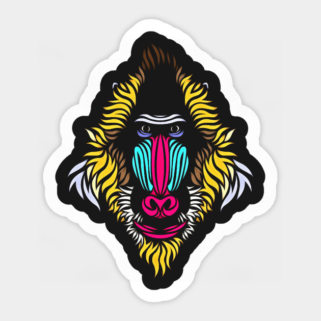 Ape Ape Monkey Tattoo Tribal Mandrel Baboon Babuino Zambo