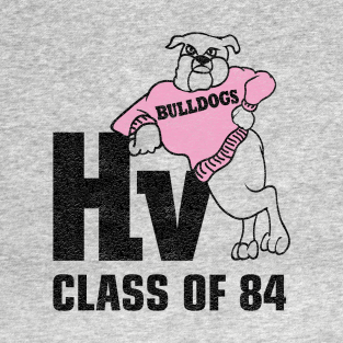 Hill Valley Bulldogs Class of 84 t-shirts