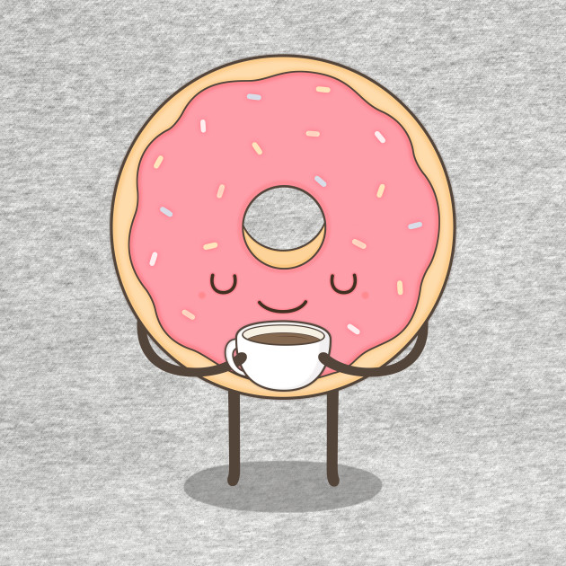 donut loves coffee