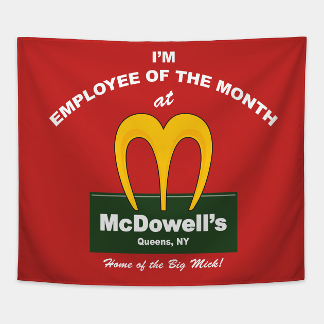 McDowell's Employee of the Month