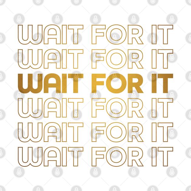 Wait For It - Hamilton - Aaron Burr