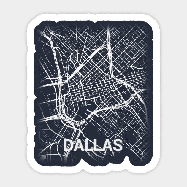 Map Of Downtown Dallas Texas on