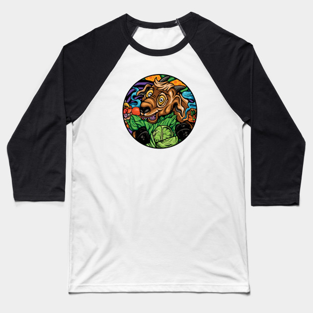 Happy Healty Goat Baseball T-Shirt