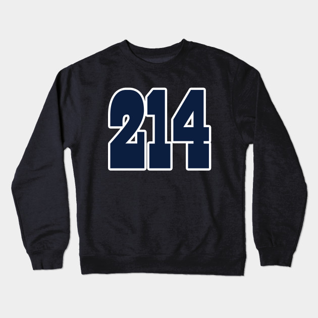 4c82098d461 Dallas LYFE the 214!!! - Dallas Cowboys - Crewneck Sweatshirt ...