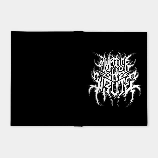 Murder, She Wrote - Metal Logo