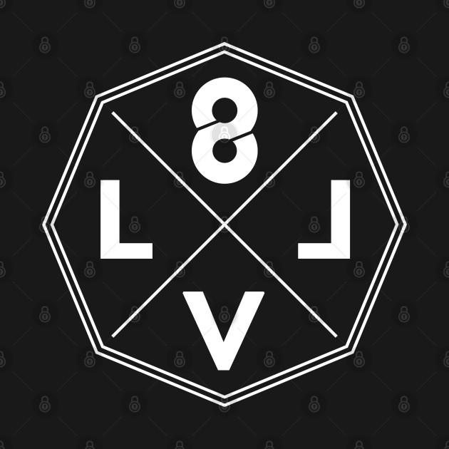 LVL8 Crossbar Octagon logo