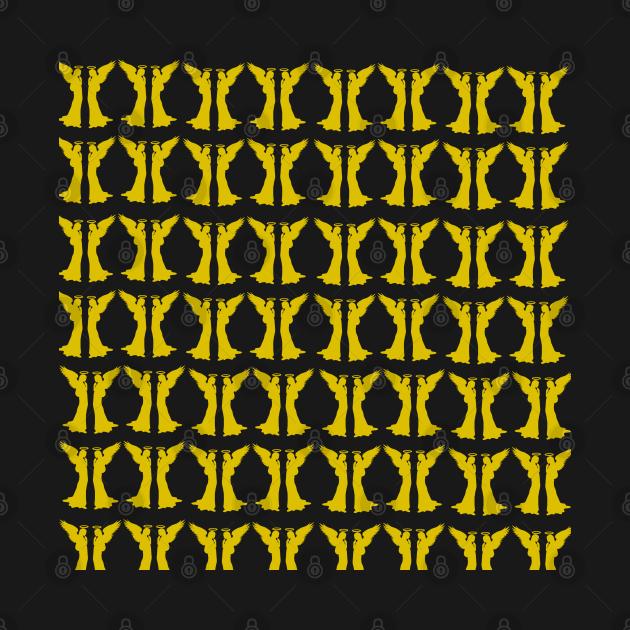 pattern golden angels, for women