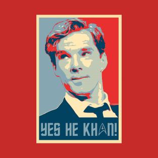 Yes he Khan.. t-shirts