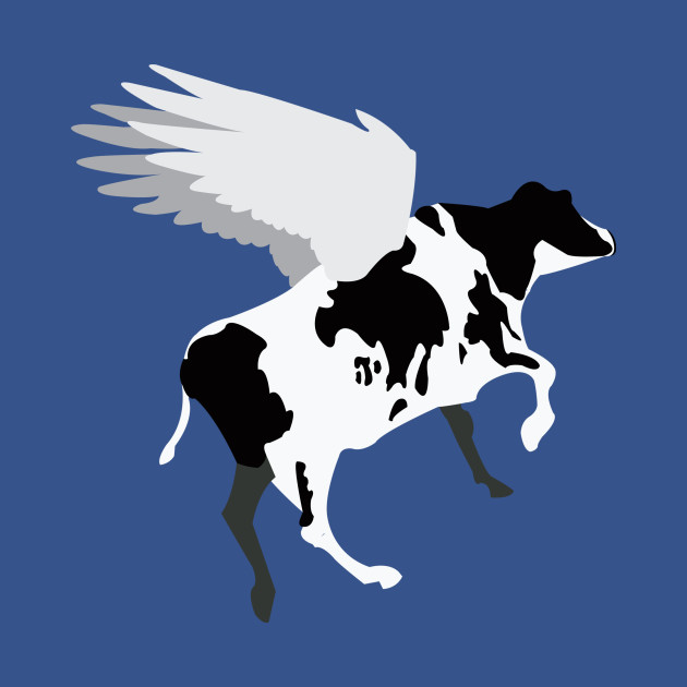 Browser The Flying Cow Cow Tank Top Teepublic