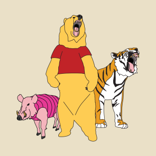Welcome to the Hundred Acre Wood!!! t-shirts