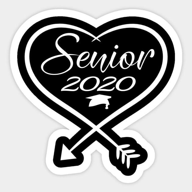 Graduation 2020 Images.Senior Graduate 2020 Trendy Arrow Heart Hat Graduation