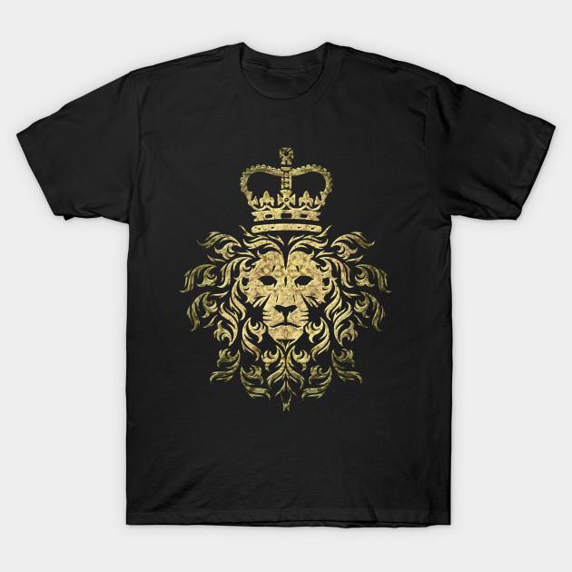 40e0dbd9 Vintage Gucci - Majestic Lion - Lion - T-Shirt | TeePublic