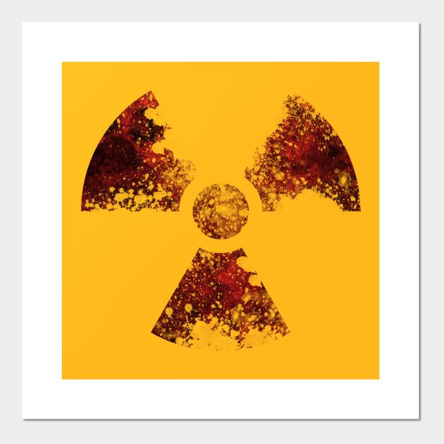 Radioactive Symbol Radioactive Posters And Art Prints Teepublic
