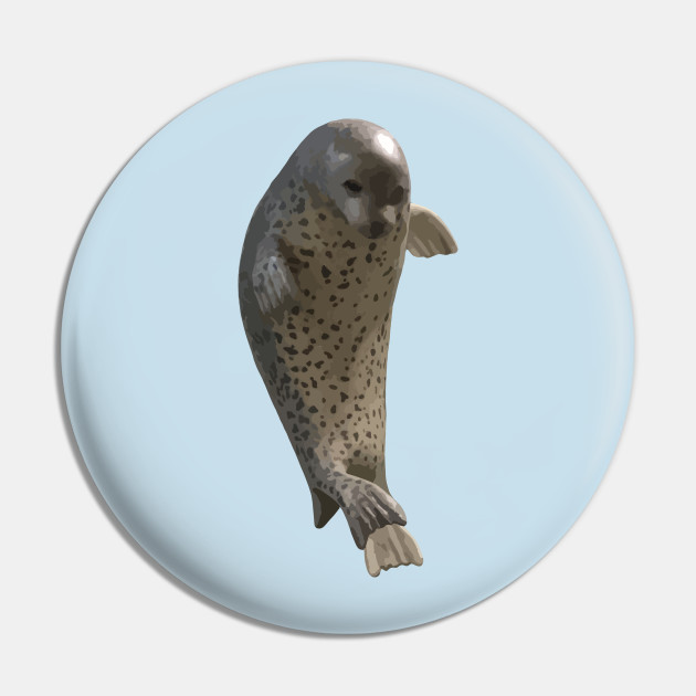 Cute Seal Seal Pin Teepublic