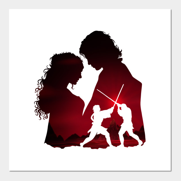 Padme And Anakin White Star Wars Posters And Art Prints Teepublic