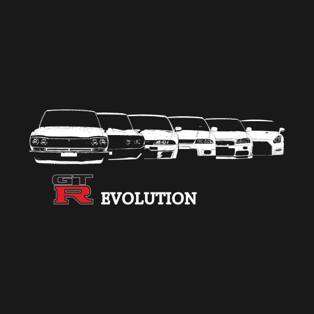 nissan gtr evolution