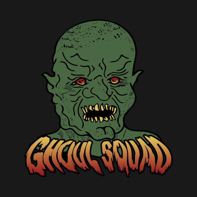 Official Ghoul Squad Podcast Color Logo