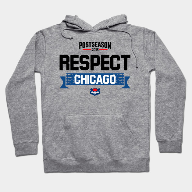 Respect Chicago Cubs Postseason Clincher 2016
