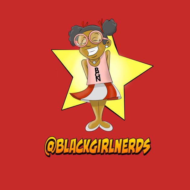Black Girl Nerds Mascot