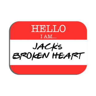 Fight Club - I am Jack's broken heart t-shirts