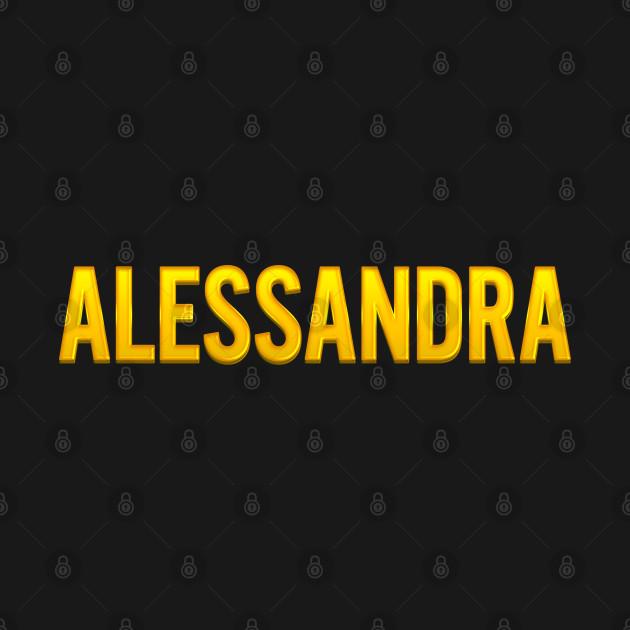 Alessandra Name - Alessandra - Kids Long Sleeve T-Shirt ...