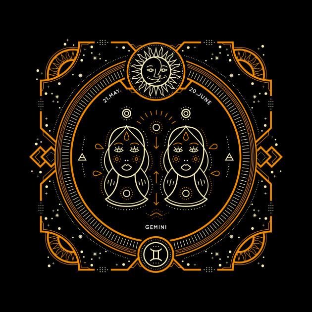 Gemini Sacred Symbol