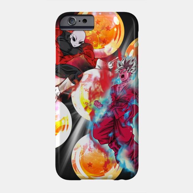 dragon ball super goku vs jiren iphone case