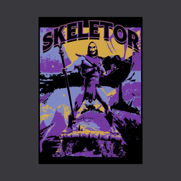 EIGHTIES felpa Masters of He Man 80s the Skeletor Universe Felpe Pullover