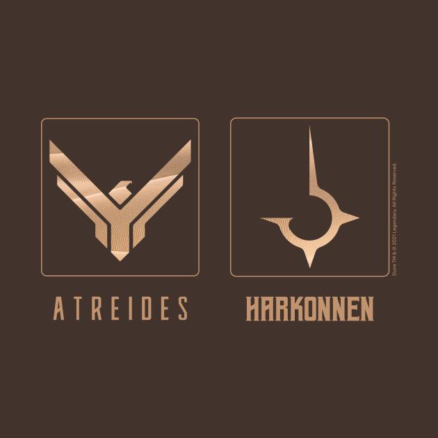 Dune Factions, Atreides and Harkonnen