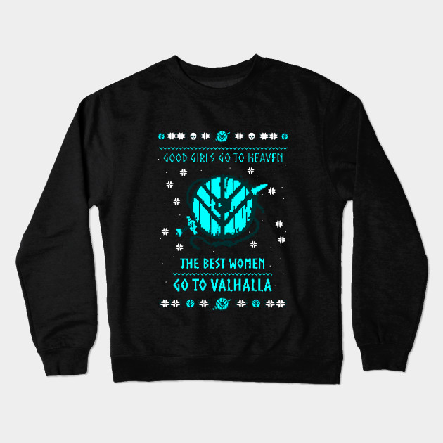 9d84323e the best women go to valhalla - christmas sweater