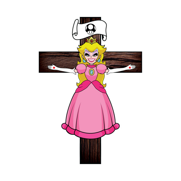 "The ""Princess Peaches a la Cross"""