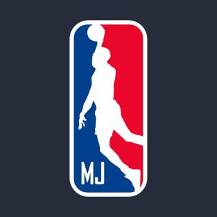 c3f849fbec96b9 MJ Basketball Logo T-Shirt