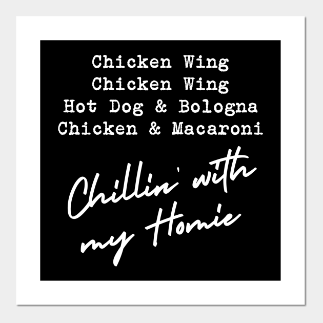 Chicken Wing Chicken Wing Hot Dog & Bologna Funny Song Lyric
